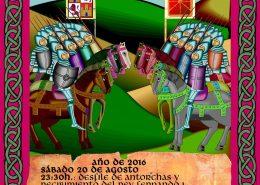 Cartel de la Batalla de Atapuerca