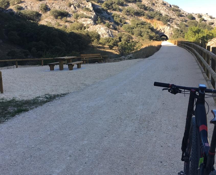 via verde Santander Mediterráneo