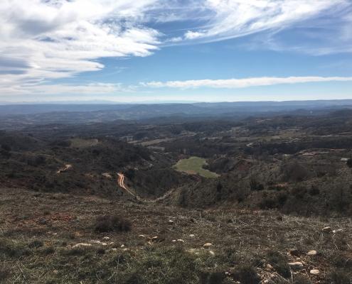 Paisaje cerca de la Cabañuela